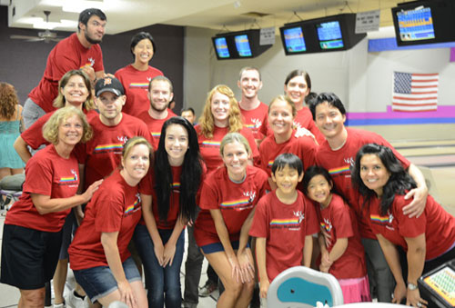 team events and sponsorships bowling