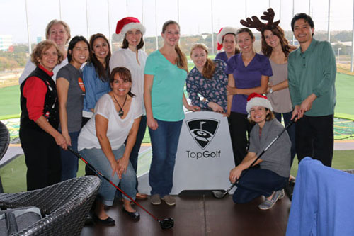team events and sponsorships top golf
